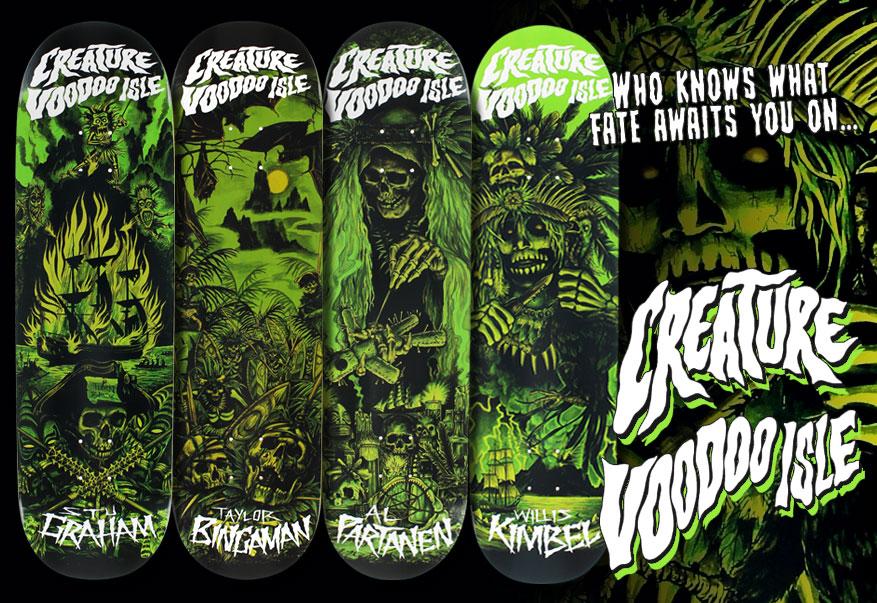 Creature Skateboards - Best Skateboard Brands