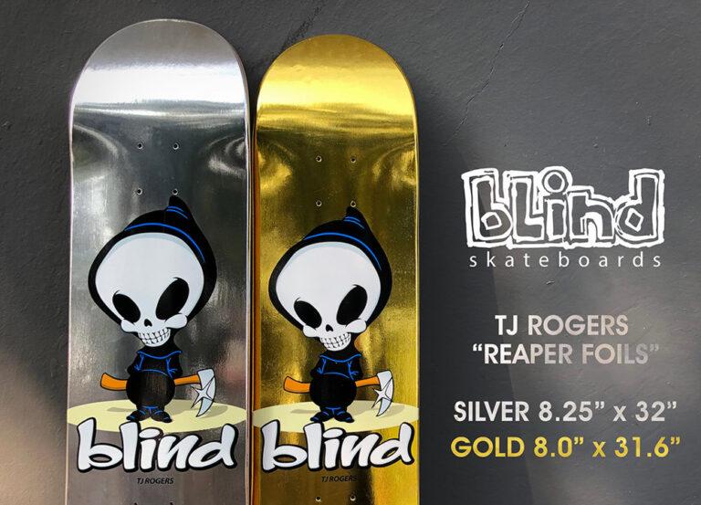 Blind Skateboards - TJ Rogers - Best Skateboard Brands