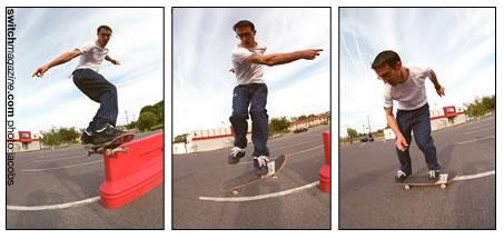 Frontside Boardslide to Shovit - Beginner Skateboard Tricks