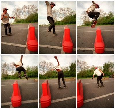 Half Cab - Beginner Skateboard Tricks
