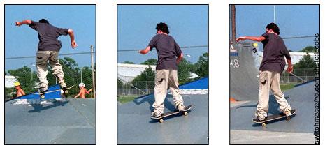 NOLLIE KICK FLIP - This is a Beginner Skateboard Trick