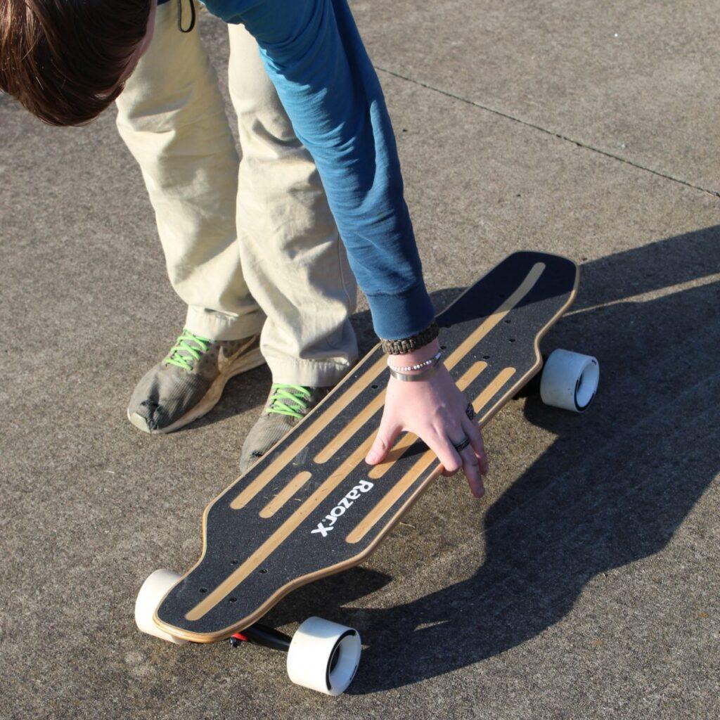 electric skateboard prices - Razor X Longboard