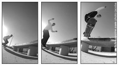 Tailslide to Fakie - Beginner Skateboarding Tricks