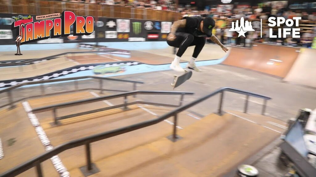 Tampa Am Contest 2020 at Skatepark of Tampa