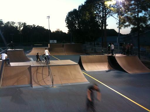 Extrmepark at Jaycee Park - Greenville - North Carolina