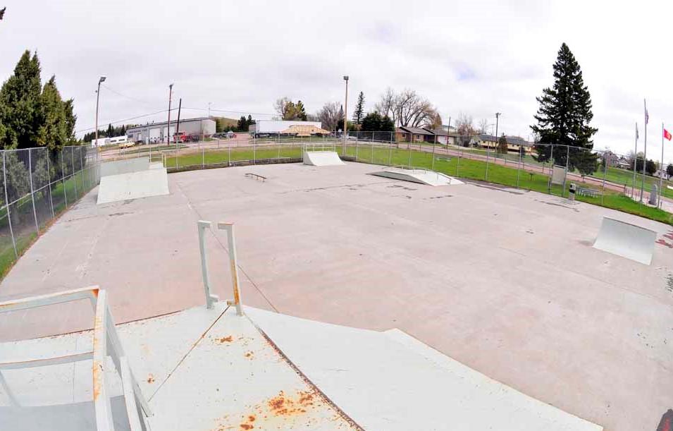 Lusk Skatepark, Lusk Wyoming